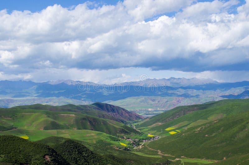 Qilian山 免版税库存图片