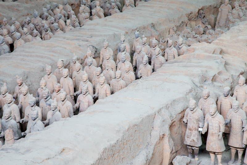 Qin Dynasty Terracotta Army, Xian (Sian), China Stock Photo