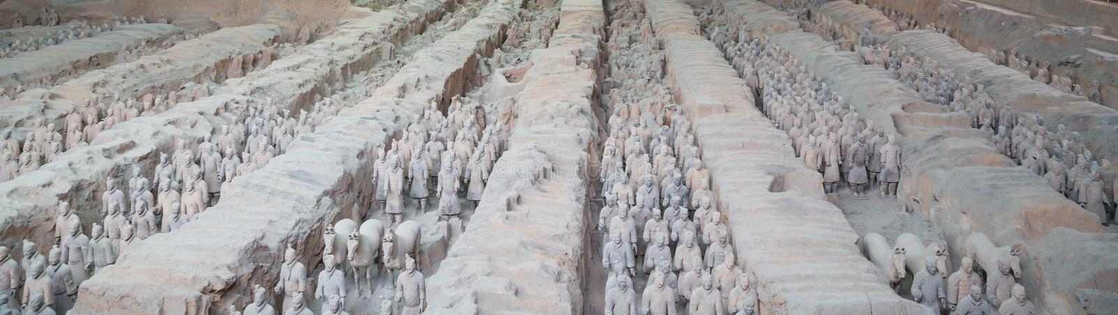Download Qin Dynasty Terracotta Army, Xian (Sian), China Stock Image - Image: 36992403