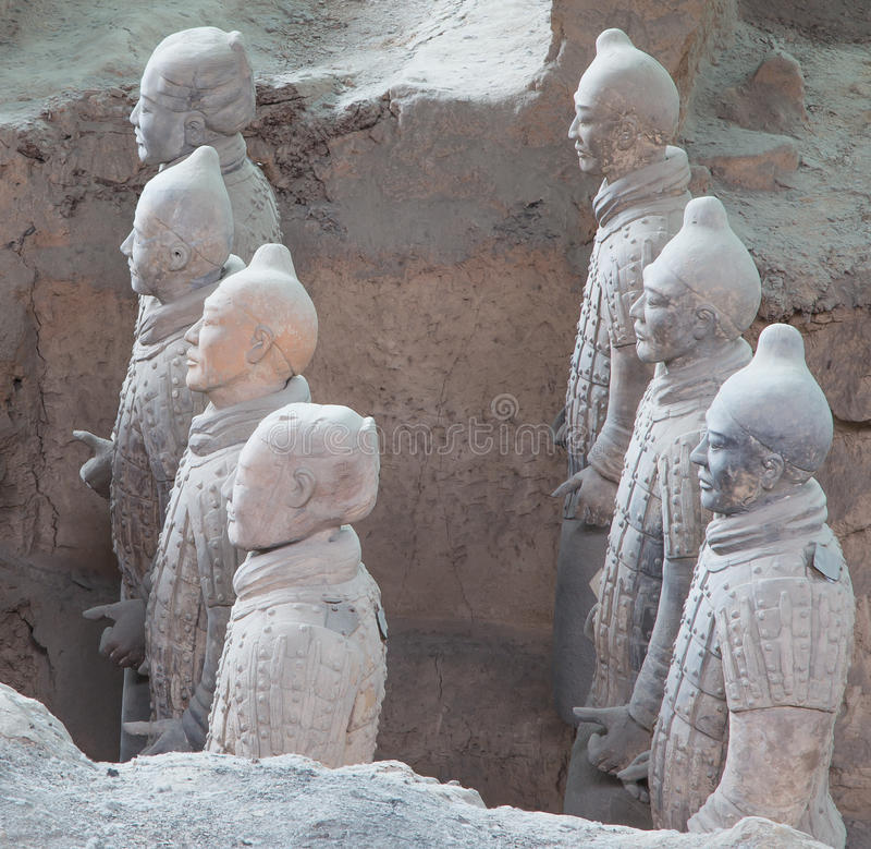 Download Qin Dynasty Terracotta Army, Xian (Sian), China Stock Photo - Image: 36992416