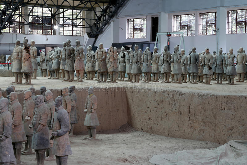 Download Qin Dynasty Terracotta Army, Xian (Sian), China Editorial Photo - Image: 41880346