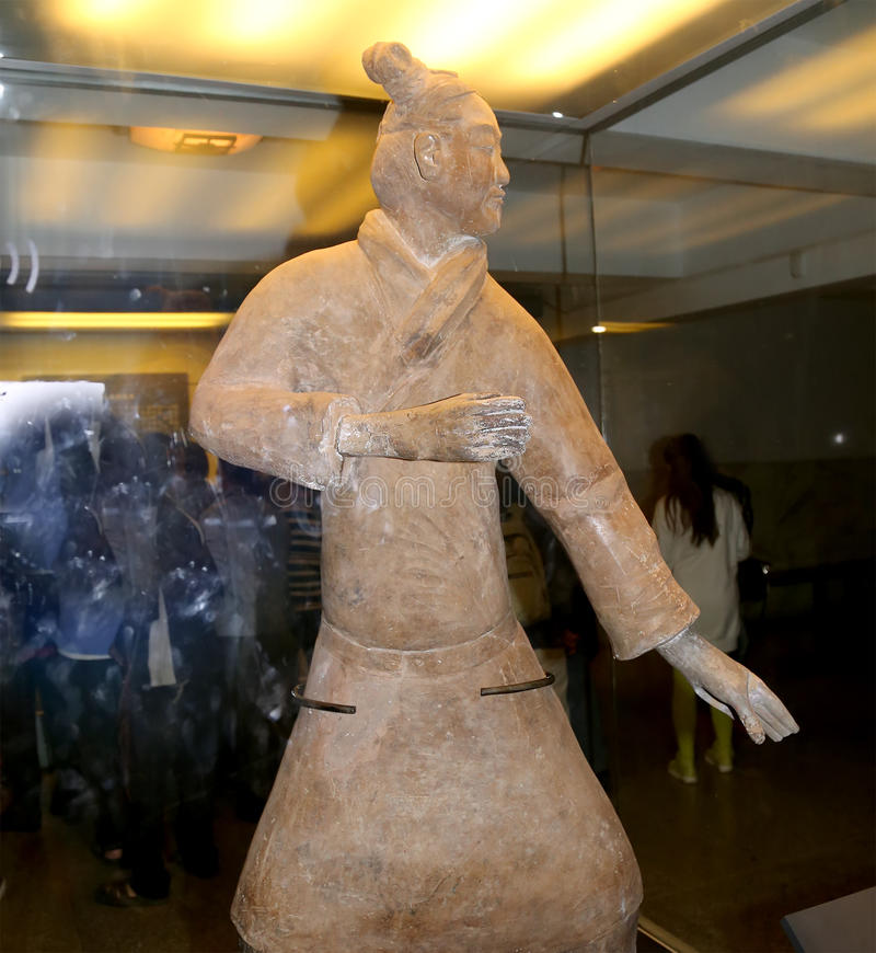 Qin Dynasty Terracotta Army, Xian (Sian), China Editorial Photography