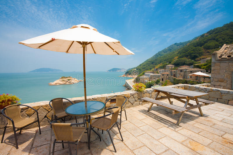 Download Qinbi Viewpoint Umbrella Angled Stock Images - Image: 23335574