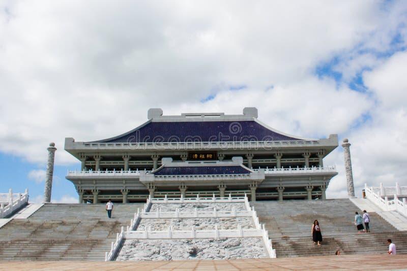 Qing świątynia obraz stock