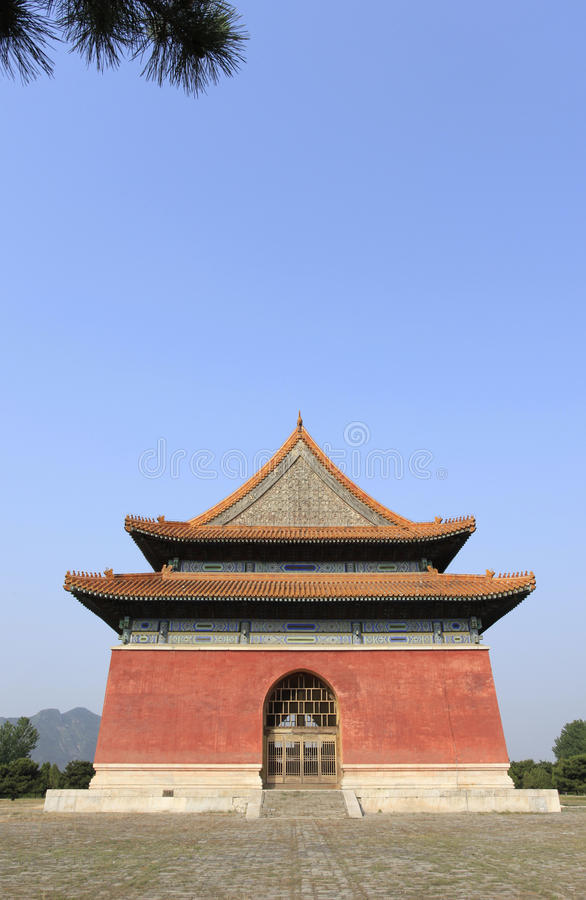 Qing dongling, building. The Qing dongling, building.China in the qing dynasty, emperor shunzhi's tomb stock photos