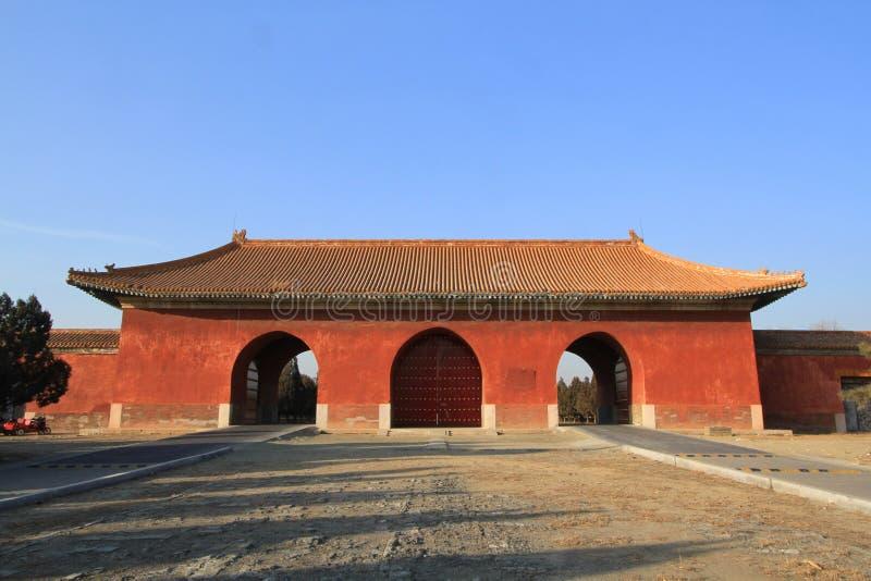 Qing dongling, Dahongmen images libres de droits