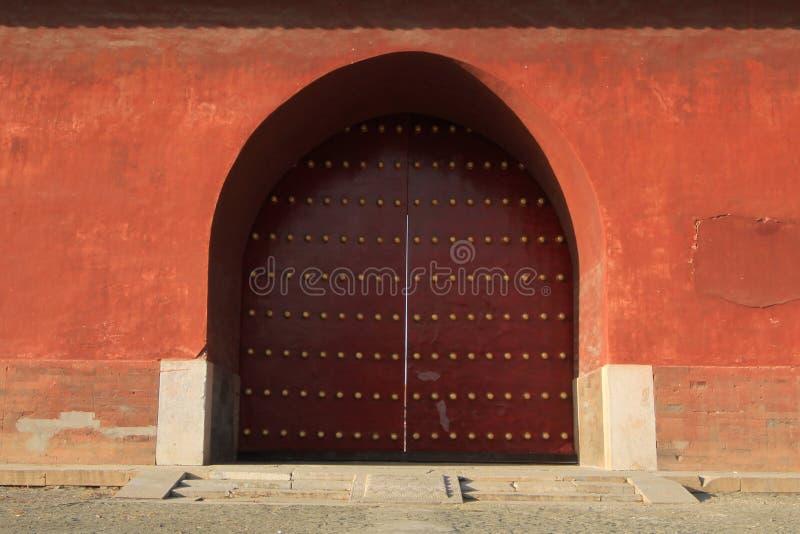 Qing dongling, Dahongmen photos libres de droits