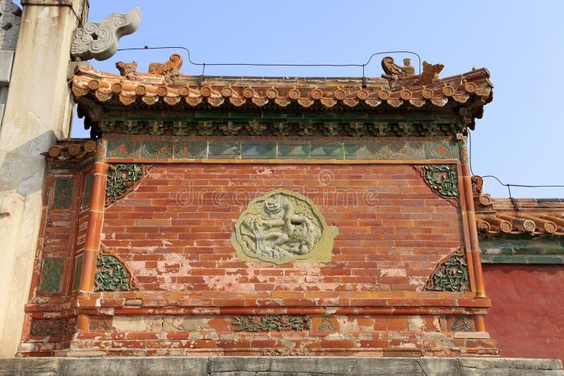 Qing dongling, porte de longfeng photo libre de droits