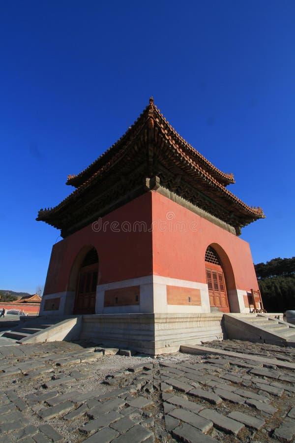 Qing dongling, tombe de kangxi d'empereur photographie stock