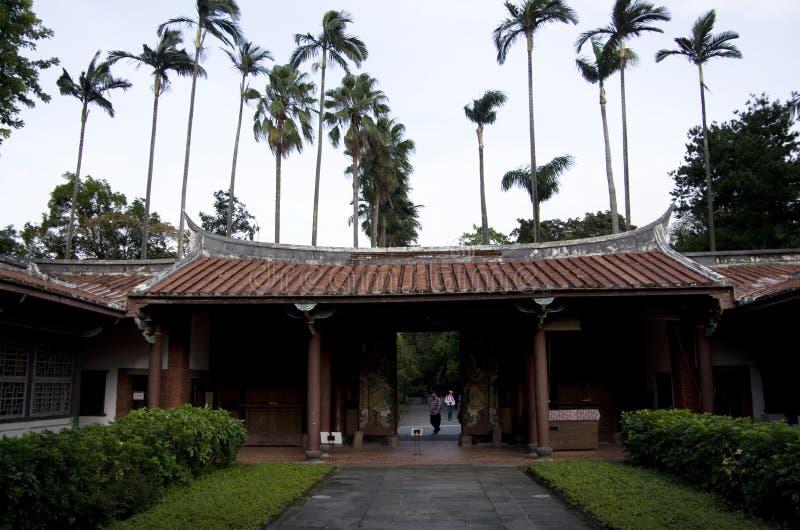 Qing Dynasty Taiwan Provincial Administration Salão imagens de stock royalty free