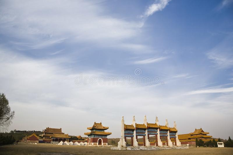 Download The qing dynasty tomb stock photo. Image of architecturalstones - 8002442