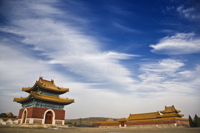 Download The Qing East Tombs Royalty Free Stock Photography - Image: 8002397