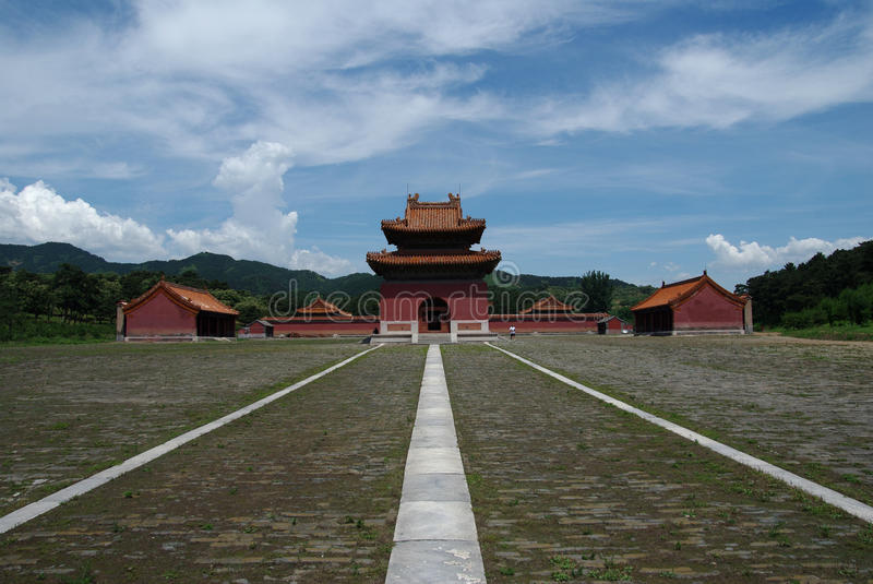The Qing Eastern tombs royalty free stock images