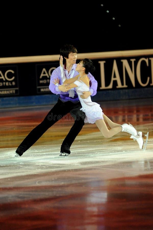 Download Qing Pang And Jian Tong At 2011 Golden Skate Award Editorial Image - Image: 21559745