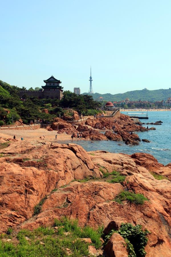 Download Qingdao zdjęcie stock. Obraz złożonej z plaża, teleskop - 41955234