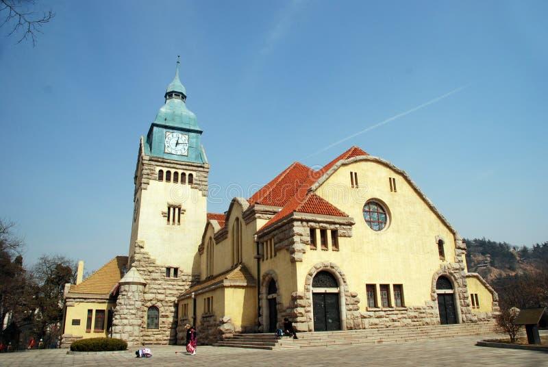 Qingdao Christian Church royalty free stock image