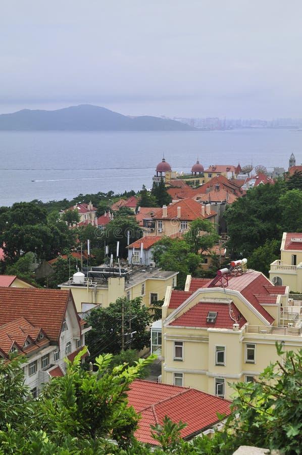 Qingdao, cidade pelo mar foto de stock royalty free