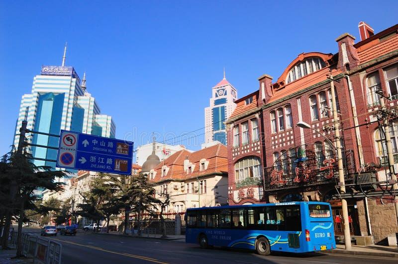Qingdao cityï ¼ China lizenzfreie stockfotografie