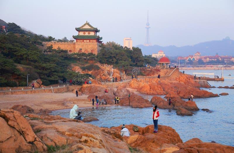 Qingdao cityï ¼ China lizenzfreie stockfotos
