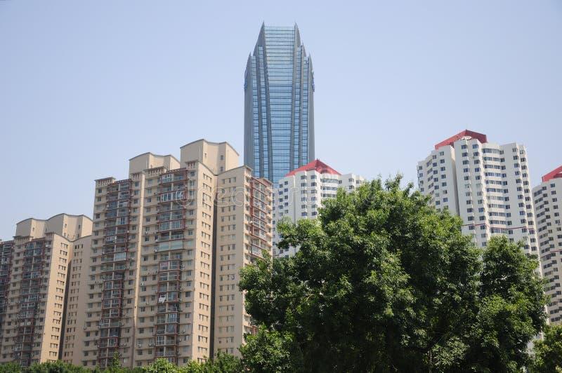 Qingdao miasto Chiny zdjęcia royalty free
