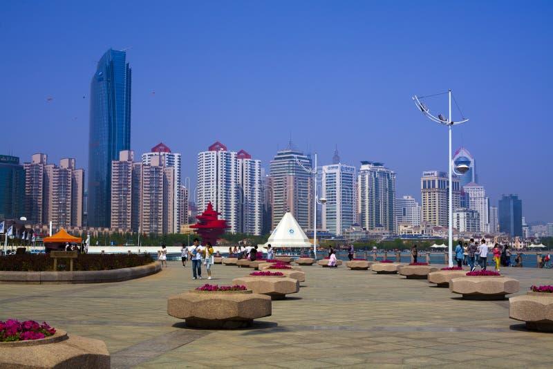Qingdao-Porzellan lizenzfreie stockfotografie