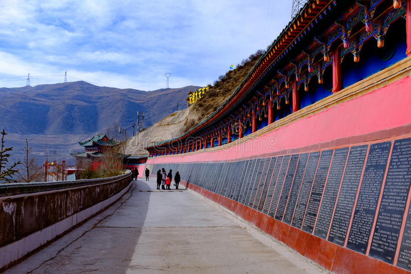 Qinghai που: μεγάλο kunlun εννέα ημερών βουνό Αγίου - MaLong Φοίνικας στοκ εικόνες με δικαίωμα ελεύθερης χρήσης