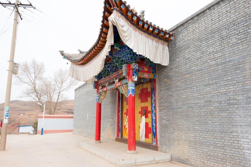 QINGHAI CHINY, Kwiecień, - 03 2015: 14th Dalai Lama miejsce narodzin w Ta obrazy stock