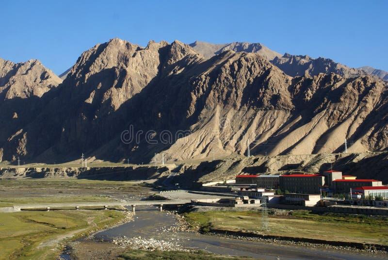 qinghai järnväg tibet royaltyfri foto