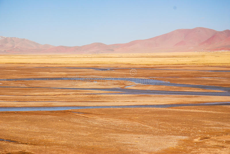 Qinghai-Tibet royalty-vrije stock fotografie