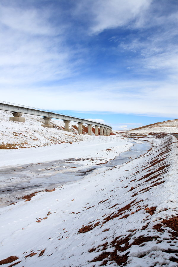 The Qinghai-Tibet Railway stock images