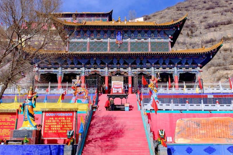 Qinghai Xining: santo de nueve días del gran kunlun - montaña de MaLong Phoenix fotografía de archivo libre de regalías