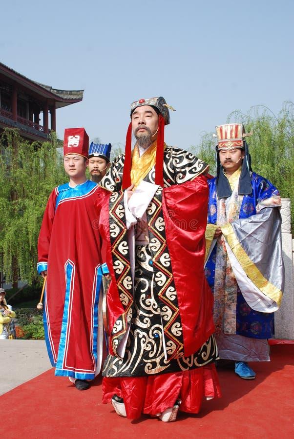 qingming för kinesisk festival för ceremoni minnes- offentlig arkivfoto