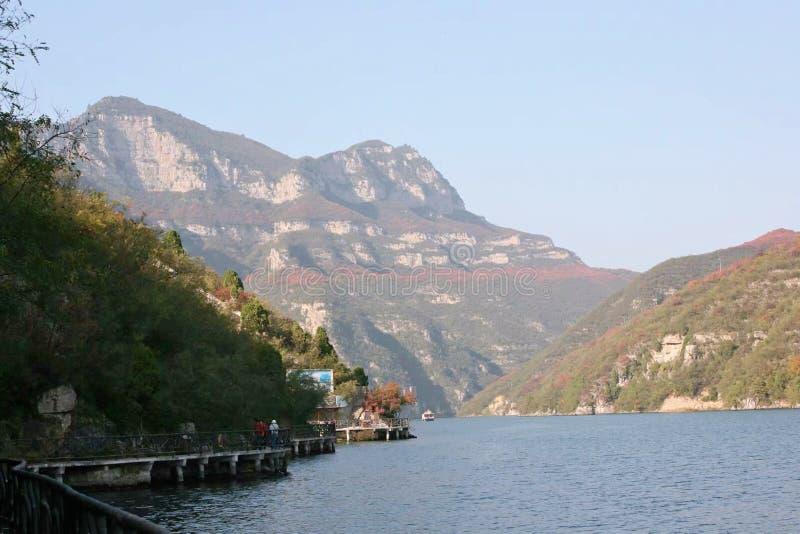 Qingtianhe Scenic Spot, Jiaozuo, Henan stock foto's