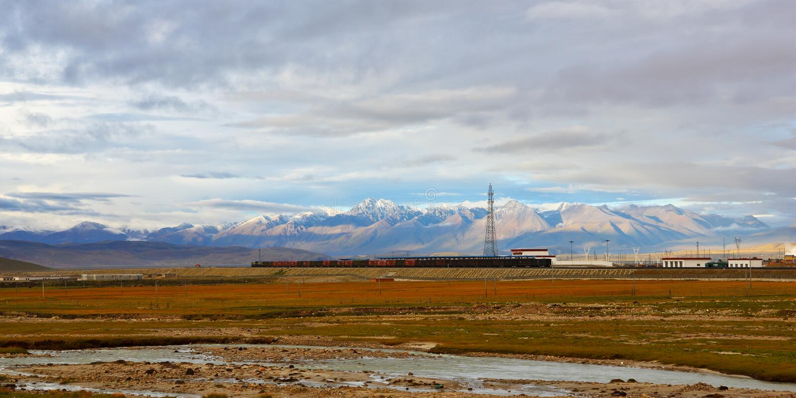 Download Qingzang railway stock photo. Image of highland, transportation - 27908752