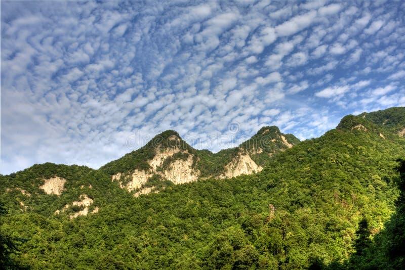 Qinling berg 免版税库存照片