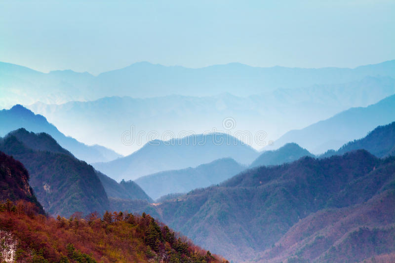 Qinling mountain spring china.  royalty free stock photography