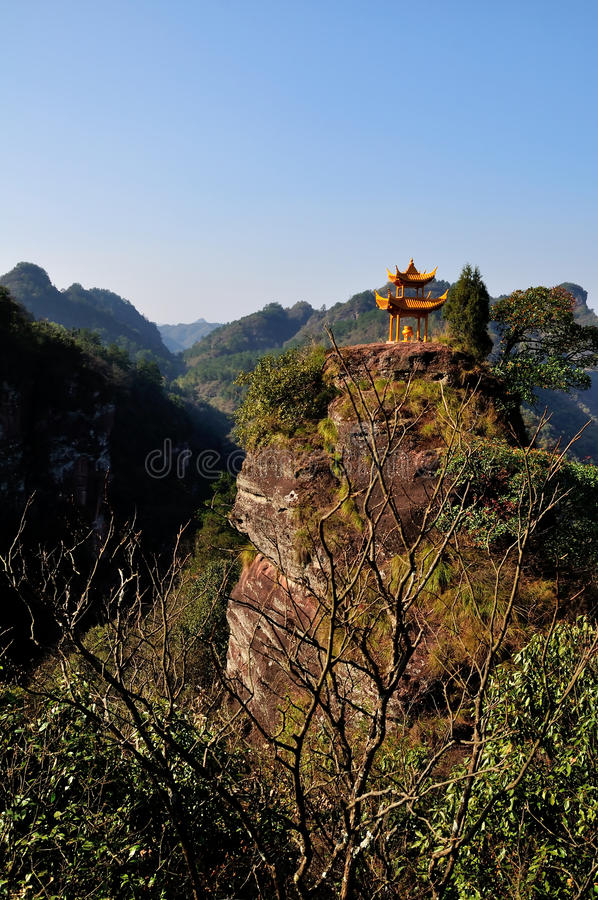 Qiyun mountain royalty free stock photos
