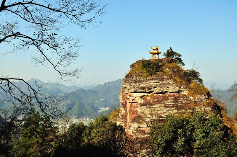 Qiyun mountain stock photography