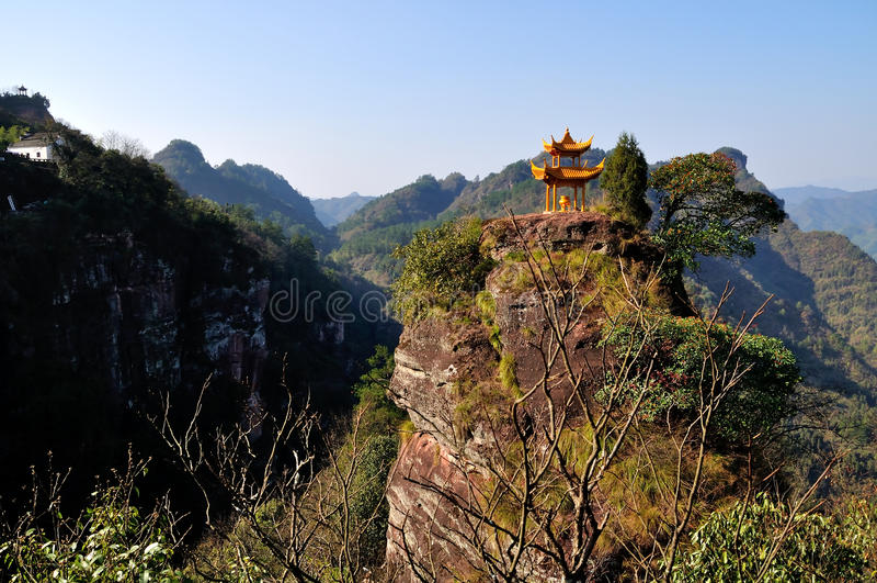 Qiyun mountain stock image