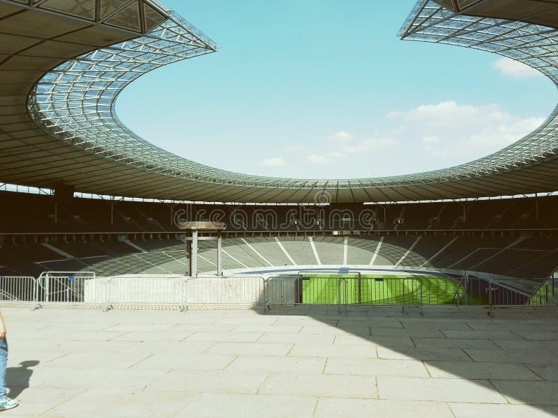 Qlympia stadion royaltyfri bild