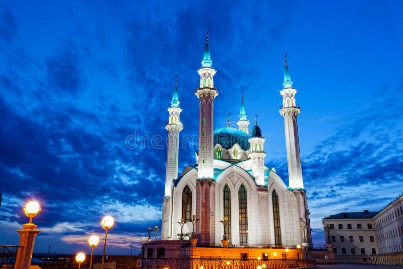 Qol Sharif meczet w Kazan obrazy royalty free