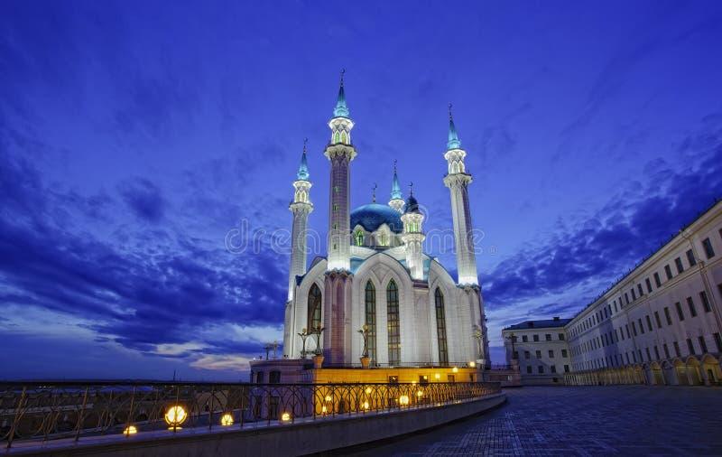 Qol Sharif meczet w Kazan fotografia royalty free