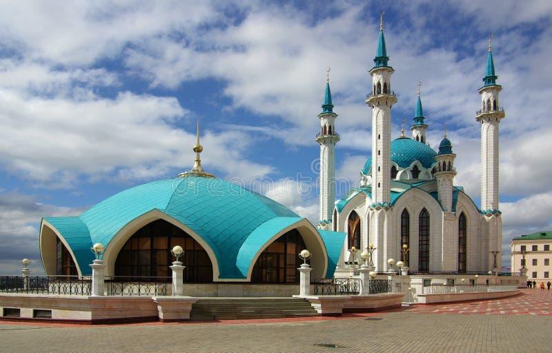 Qol Sharif Mosque in Cremlino di Kazan, Tatarstan, Russia fotografia stock