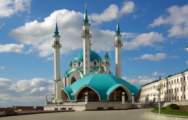 Qol Sharif Mosque in Kasan der Kreml, Tatarstan, Russland stockfotografie