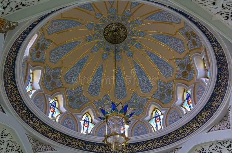 Qolsarif meczet, Kazan zdjęcie stock