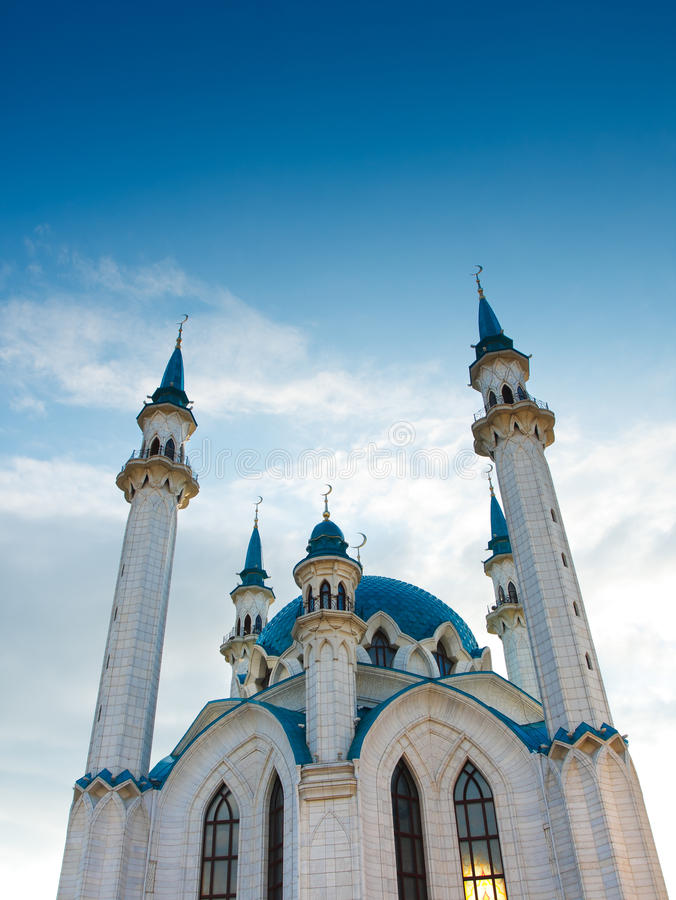 qolsharif мечети стоковое фото rf
