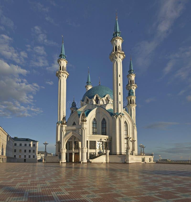 Qolsharif meczetowy minaret w Kazan Rosja zdjęcie royalty free
