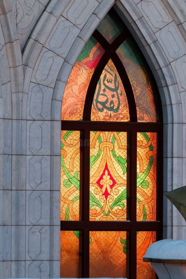 Qolsharif Moschee in Kazan Kremlin lizenzfreies stockbild