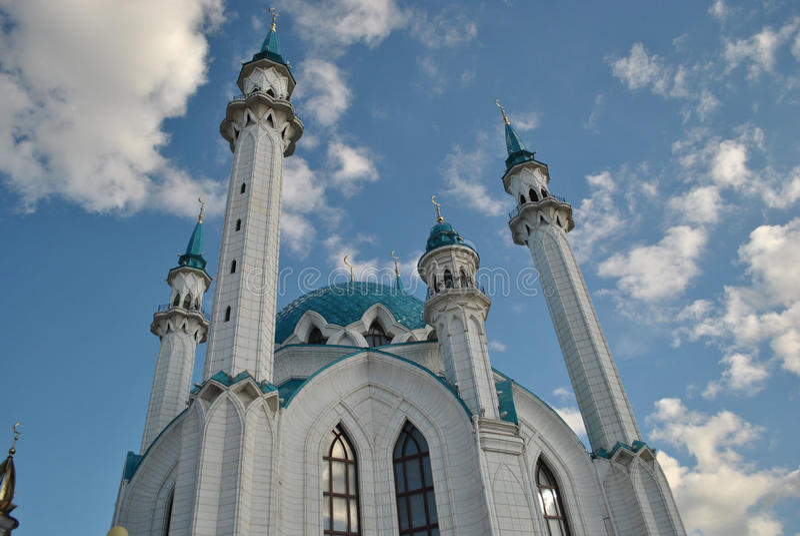 Download The Qolsharif Mosque stock image. Image of kremlin, kazani - 26625539