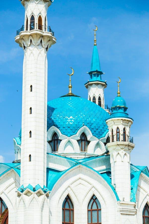 Qolsharif Mosque in Kazan Kremlin. Tatarstan, Russia stock photography
